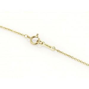 Tiffany & Co. Picasso 18k Yellow Gold Unique Ribbon Pendant Necklace