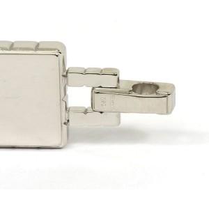 Chopard 18k White Gold Cube Design Briefcase Shape Pendant