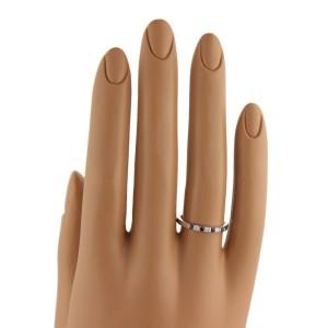 Tiffany & Co. Diamonds Rubies & Platinum Band Ring Size 6