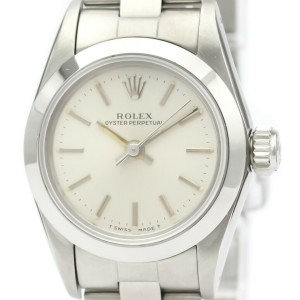 ROLEX Stainless Steel Oyster Perpetual Watch HK-2373