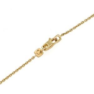 Louis Vuitton Green Amethyst 18k Yellow Gold Bangle Pendant & Chain