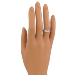 Cartier Platinum 3.5mm Wide Dome Wedding Band Ring Size EU 56-US 7.75 Cert.
