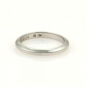 Cartier Platinum 2mm Plain Wedding Band Ring Size EU 49-US 4.75