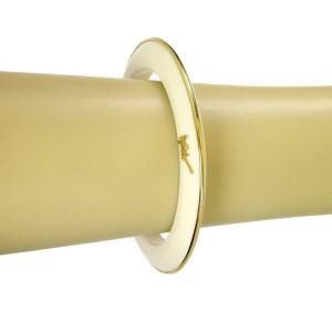 Ippolita Signature 18k Yellow Gold Full Circle Agate Bangle