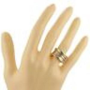 Bvlgari Bulgari B Zero-1 Wide 18k Yellow Gold 10mm Band Ring Size 48-US 4.25