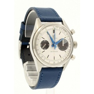 Massena Lab Uni-Racer White Black Panda Dial  Chronograph 39mm Watch