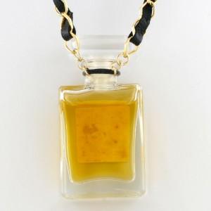 CHANEL Perfume Bottle Necklace