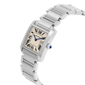Cartier Tank Francaise W51011Q3 25mm Womens Watch