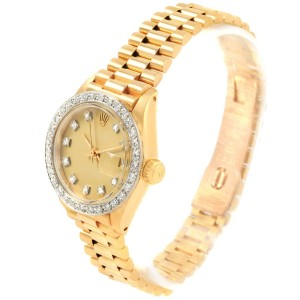 Rolex Datejust 6917 Vintage 24mm Womens Watch