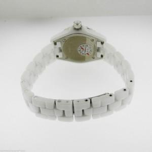 Chanel J12 H2570 Diamond Dial White Ceramic Quartz 29mm Watch