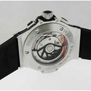 Hublot 311.SM.1170.GR Big Bang Aero Bang Stainless Steel Black Dial 44mm Mens Watch