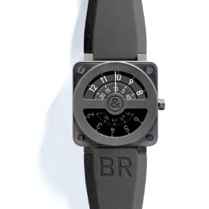 Bell & Ross BR01-92 Compass Limited Stain Black Dial 46mm Watch