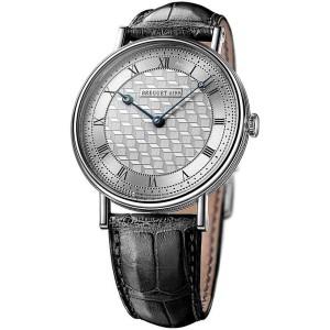 Breguet 5967bb/11/9w6 Classique Manual Wind Art Deco Dial White Gold 41mm Watch