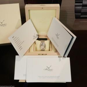 Breguet 8918bb Reine De Naples Automatic Diamond White Gold Watch