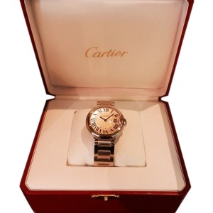 Cartier Ballon Bleu Stainless Steel Quartz W69011Z4 Watch
