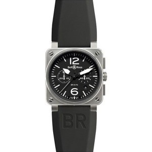 Bell & Ross BR-03-94 Carbon Steel Automatic Stainless Steel Watch