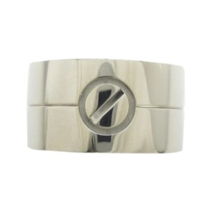 Cartier Love 18K White Gold Ring Size 8.25