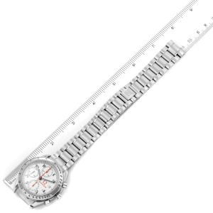 Omega Speedmaster White Dial Chronograph Mens Watch 3515.20.00