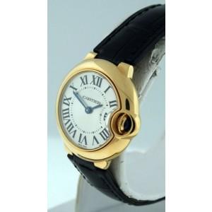 Cartier Ballon Bleu 18K Yellow Gold 29mm Womens Watch