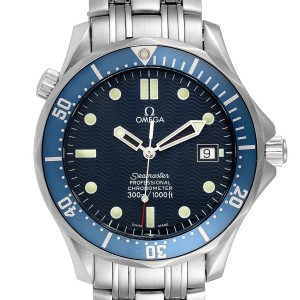 Omega Seamaster 300M Blue Dial Steel Mens Watch 2531.80.00