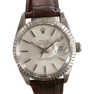 Rolex Oyster Perpetual Datejust Stainless Steel 36mm Mens Vintage Watch