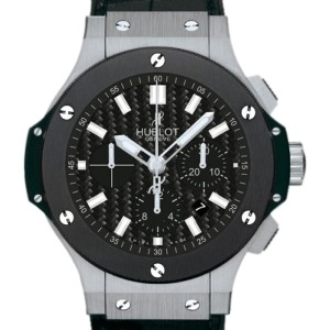Hublot Big Bang Evolution 301.SM.1770.GR Stainless Steel & Ceramic 44.5mm Mens Watch