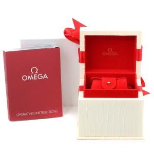 Omega Constellation Mini Pink MOP Diamonds Ladies Watch 1566.66.00