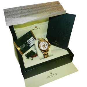 Rolex 116523 WS Daytona White Dial Steel and Gold watch