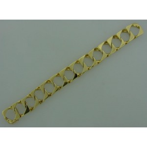 Tiffany & Co. Yellow Gold Square Link Bracelet
