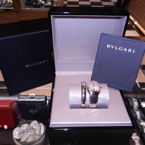 Bulgari Serpenti Tubogas sp35c6spgd.1t Stainless Steel/Rose Gold 35mm Watch