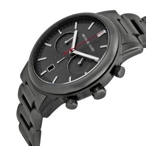 Michael Kors MK8371 Pennat Gunmetal Dial Gunmetal IP Chronograph Men's Watch