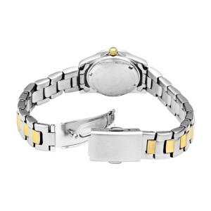Bulova Caravelle 45L83 Two-Tone Bracelet Silver Dial Womens Watch
