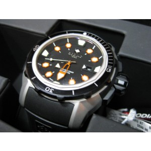 Zodiac Racer ZO8606 Stainless Steel & Rubber 50mm Watch