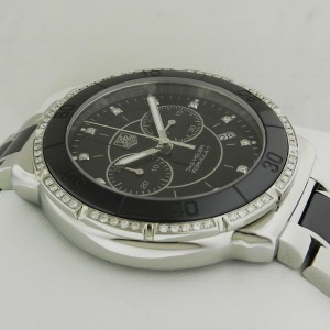 Tag Heuer Formula One CAH1212.BA0862 Stainless Steel & Ceramic Quartz Diamond 41mm Unisex Watch