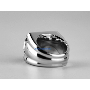 Silver Diamond Womens Ring Size 7
