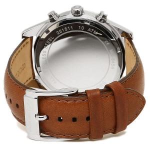 Michael Kors MK8456 Lexington Brown Leather Analog Sport Quartz 45mm Mens Watch