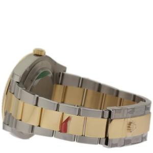 Rolex Datejust II 116333BKAO 18K Yellow Gold & Stainless Steel 41mm Watch
