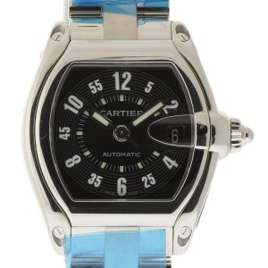 Cartier Roadster W62004V3 Stainless Steel 38mm Mens Watch