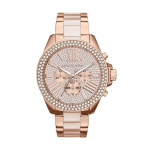 Michael Kors MK6096 Rose Gold Tone Stainless Steel 42mm Womens Watch