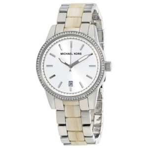 Michael Kors MK6371 Stainless Steel Silver Dial Quartz 37mm Women's Watch