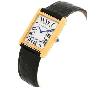 Cartier Tank Solo W1018855 34m Unisex Watch