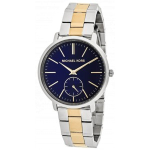 Michael Kors Jaryn MK3523 Two Tone Gold Tone & Stainless Steel Blue Dial 38mm Womens Watch