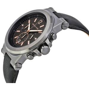 Michael Kors MK8511 Gunmetal Ion Plated Stainless Steel 46mm Mens Watch