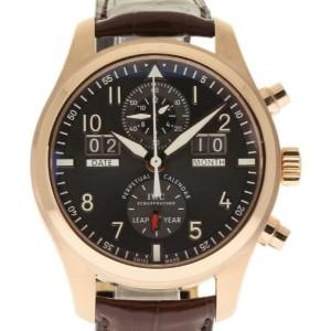 IWC IW379105 Pilot Spitfire Perpetual Calendar Rose Gold Mens 46mm Watch