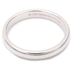 Tiffany & Co. PT950 Platinum Wedding Ring Size 6.5