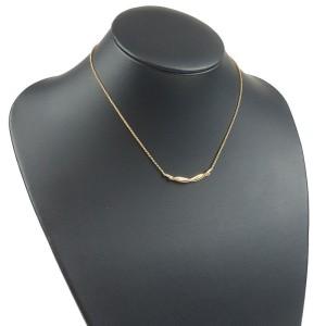 Cartier Entrelaces 18K Rose Gold Necklace