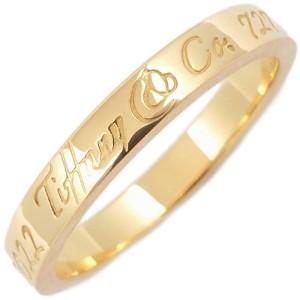Tiffany & Co. 18K Yellow Gold Narrow Band Ring Size 5