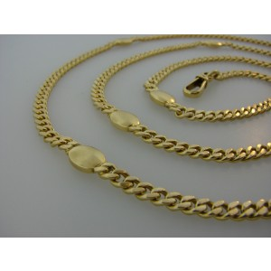 Bulgari 18K Yellow Gold Vintage Chain Necklace
