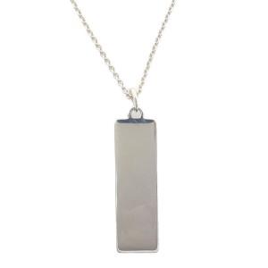 Tiffany & Co. Atlas 925 Sterling Silver Necklace