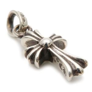 Chrome Hearts 925 Sterling Silver Cross Pendant
